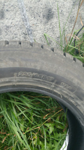 Barely Used ICE BLAZER winter tires