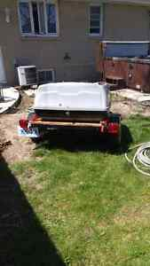 Home made Motorcycle trailer Sarnia Sarnia Area image 3