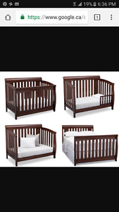 Crib for sale practically new!