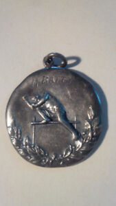Vintage Track and Field 1919 Medal