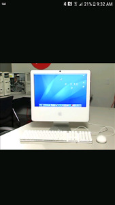 "17"" Apple imac - 2G ram - 250 HD - late 2006 in ABSOLUTE MINT"