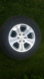 18 inch factory chevrolet gmc rims tires package