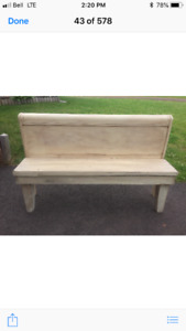 Antique headboard benches for sale