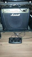 Marshall MG30FX with foot controler