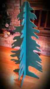 Christmas Tree - Green  (Small Version) Wooden/Foldable