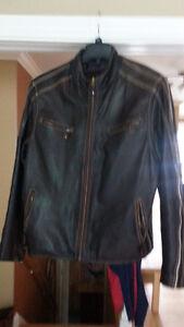 Jacket cuir véritable - genuine leather coat