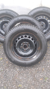 VW/audi winter tires p195 65 r15 continental si
