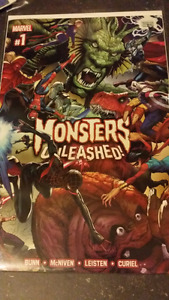 Monsters Unleashed Marvel Comics complete series.