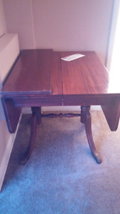 Dining room table with two chairs. 55$