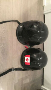 D.O.T helmets for motor cycle -- very good condition
