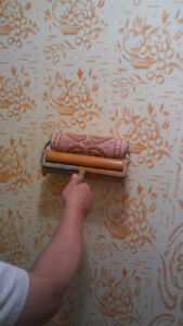 Special, antique paint rollers