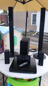 Yamaha DVX-C310 5.1 Home Theater System