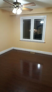 NEWLY PAINTED UPPER PORTION FOR RENT@MARKHAM AND LAWRENCE
