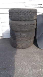 Four Blizzard Tires 205/55