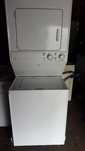 Stackable washer and electric dryer 300.00