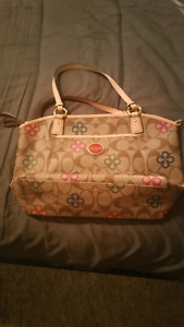 *Authentic*Coach Peyton Signature Clover Tote