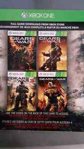Gears of war 1-3 and judgment 4 games in 1!!