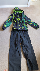 Boys Rain Jacket and Splash Pant Suit