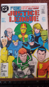 Justice League Keith Giffen Kevin Maguire 1987