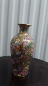 Beautiful Chinese Hand Painted Colorful Vase,signed