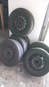 P185/65/14 tires rims