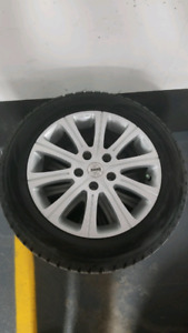 Winter tires and Momo rims 205/60 R16