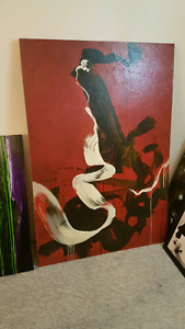 Large painting.  Great shape  $50
