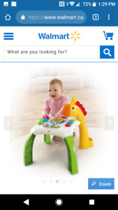 Fisher-Price Animal Friend's learning table