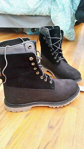 Women's Black Timberlands
