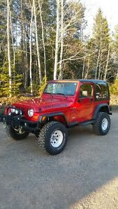 1997 Jeep Wrangler Coupe (2 door)