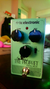 TC Electronic 'The Prophet' Digital Delay Pedal