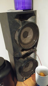 Sony Speaker System, Loud bass and clear sound