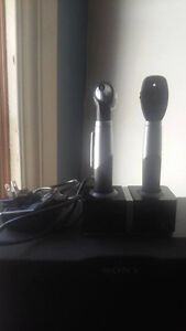 Otoscope/ Ophthalmoscope and charger kit
