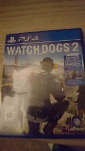 Watch dogs 2 ps4 50$