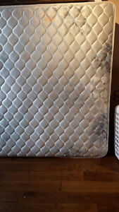 Queen size mattress for free