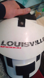 LOUISVILLE FLEXOR FOOTBALL SHOULER PADS