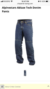 jeans with Kevlar