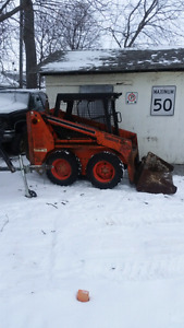 Thomas T133 skid steer