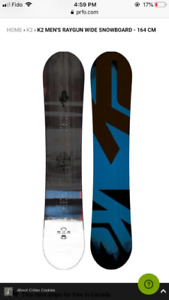 *BRAND NEW NEVER USED* K2 Men's Raygun Snowboard and Bindings