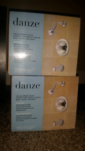 Danze shower and tub faucets