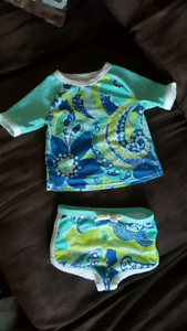 Girls 6-12m swim suit
