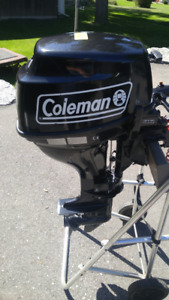 9.8 hp Coleman / Parsun 4 stroke Outboard Motor for parts