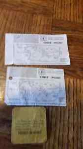 TICKETS FROM 1990 AND 1991 MOLSON INDY London Ontario image 2