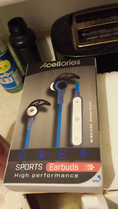 BLUETOOTH EARPHONES!!!