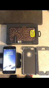 iPhone 6 Plus with accessories