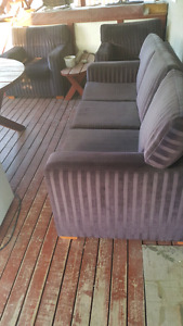Couch and 2 Chairs for Patio