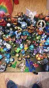 Huge lot of skylanders with over 100 pieces