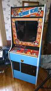 Donkey Kong Arcade Machine - Part Original Part Homemade