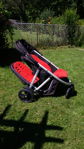 Phill& teds double stroller