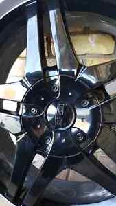 "20"" DIP DAGGER RIMS with tires London Ontario image 4"